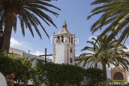 Church of Betancuria in Fuerteventura