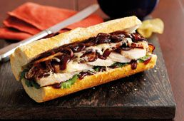 Hunters Chicken Baguette