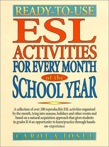 Ready-to-Use ESL Activities for Every Month of the School Year by Carol A. Josel, http://www.amazon.com/dp/0130456705/ref=cm_sw_r_pi_dp_MWqWqb1AE84JG