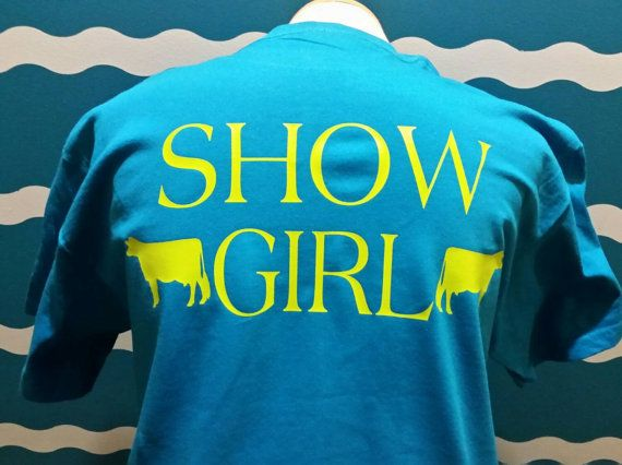 Check out this item in my Etsy shop https://www.etsy.com/listing/271312839/show-dairy-cow-shirt-dairy-cow-tees