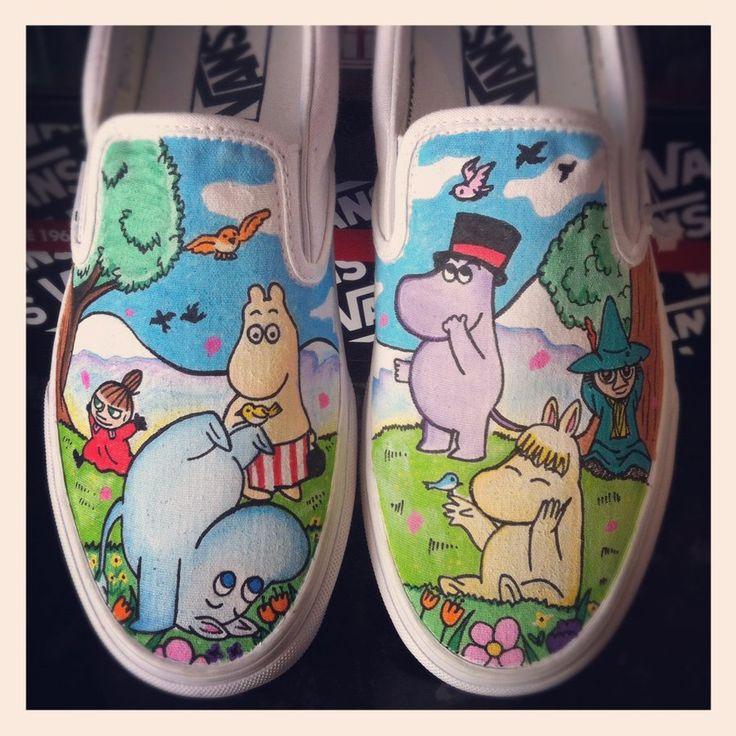 Moomins Vans by VeryBadThing.deviantart.com on @deviantART