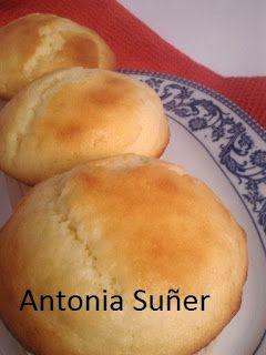 Recetas sin gluten con MIX de harinas básicas : Magdalenas de mantequilla.