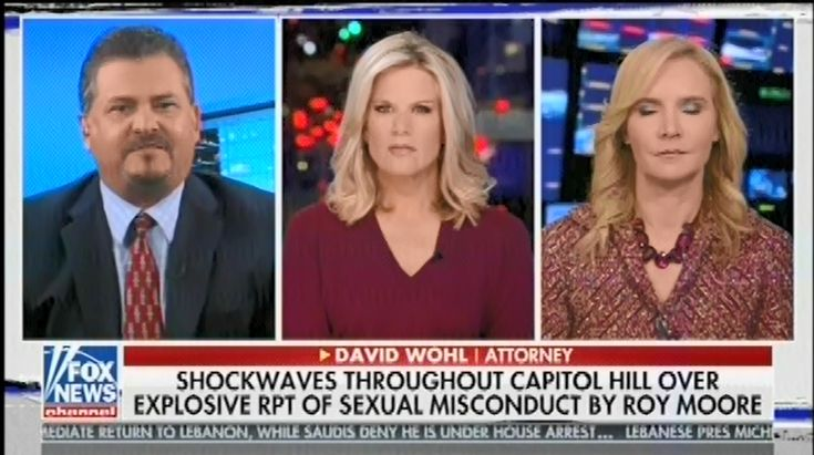 "Fox guest attacks woman who spoke out about Roy Moore, saying that at 14 years old she was ""basically incorrigible"""