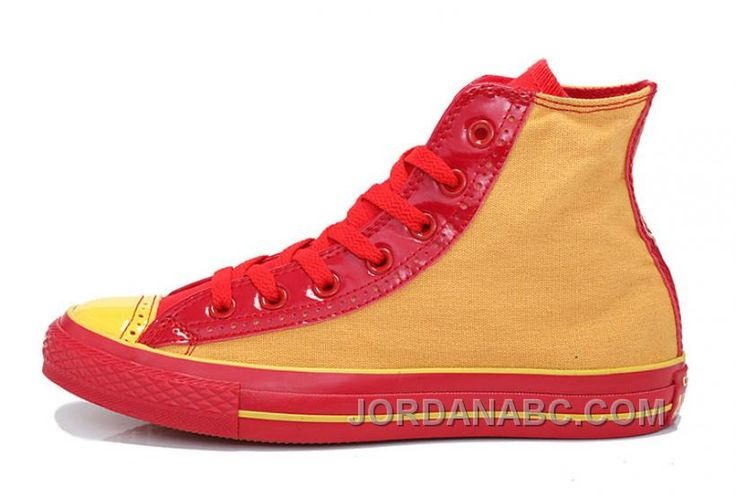 http://www.jordanabc.com/trend-converse-successor-yellow-red-chuck-taylor-all-star-high-tops-canvas-sneakers.html TREND CONVERSE SUCCESSOR YELLOW RED CHUCK TAYLOR ALL STAR HIGH TOPS CANVAS SNEAKERS Only $56.00 , Free Shipping!