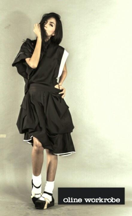 It's a black dress