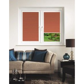 Hive Blackout Burnt Orange Perfect Fit Pleated Blind