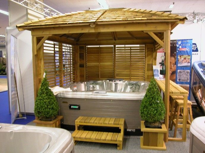 Diy Hot Tub Enclosure Winter Google Search Hot Tub