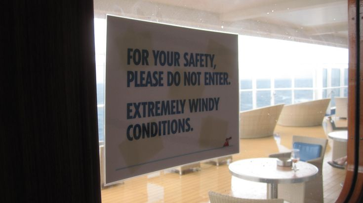 Outdoor smoking area can be windy on the Carnival Vista: http://cigarczars.com/cigars-carnival-vista.htm
