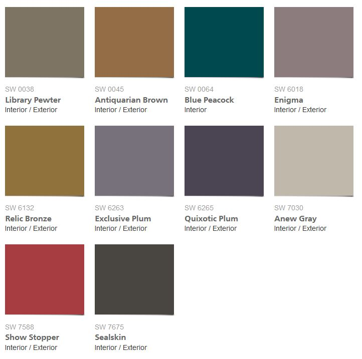 39 Curiousity 39 Exciting New Interior Paint Colors From Sherwin Williams Intense And Earth