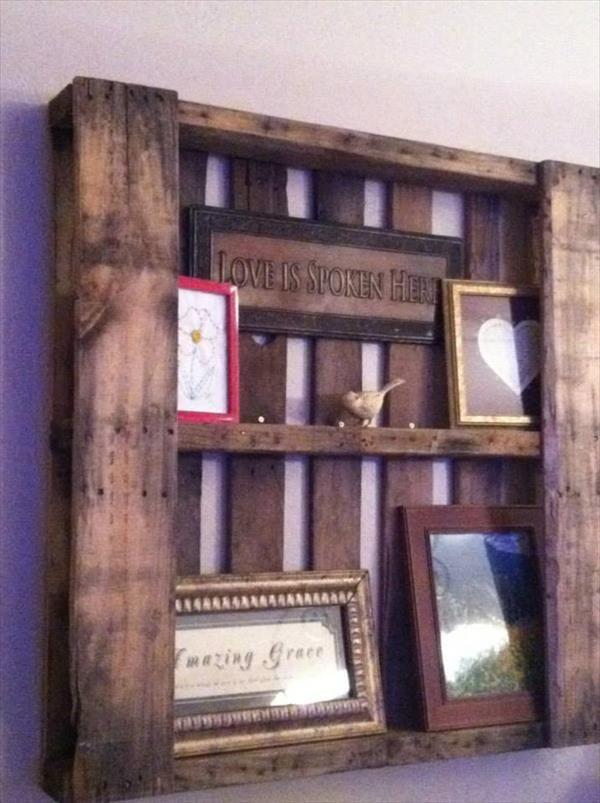 5 DIY Pallet Shelves And Rack Ideas