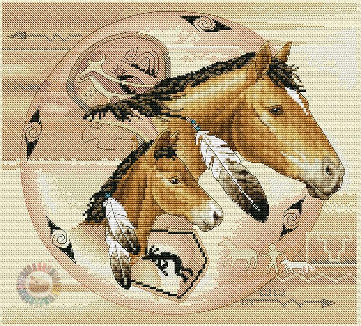 Tribal ponies 1/7
