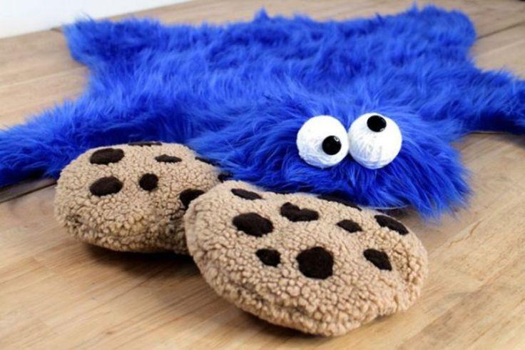 Bantal Cookie Monster, Hiasan Unik Untuk Interior Rumah