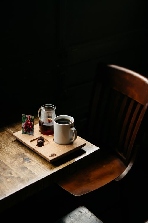 coffee service.