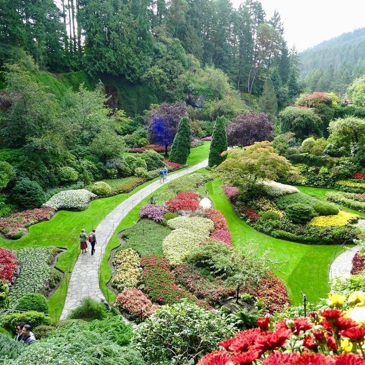 The Butchart Gardens, Vancouver Island The Butchart