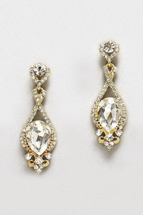 Crystal Daphne Earrings Shining Of Jewellery Pinterest Schmuck