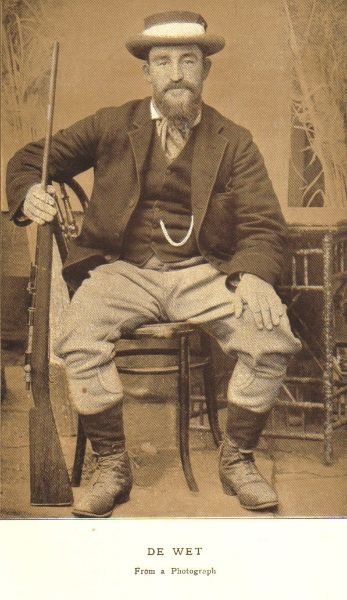 Boer War General de Wet