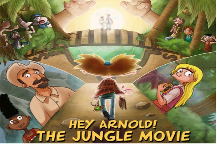 Vuélvete locx: Oye Arnold! La vida moderna de Rocko y el Invasor Zim estrenan sus películas este año