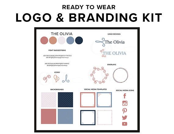 Building a website or starting a blog and need help with brand identity and styling? This premade logo and branding kit is just what you need. Perfect for new bloggers and female entrepreneurs. The Olivia: Inspired by the chic and stylish Olivia Pope from Scandal Upon receipt of payment, you will receive a zip file containing: - Colour Palette: 5 colours with colour codes (hex, rgb, CMYK) - Font Suggestions: 2 complementary font suggestions + links to download free fonts -...