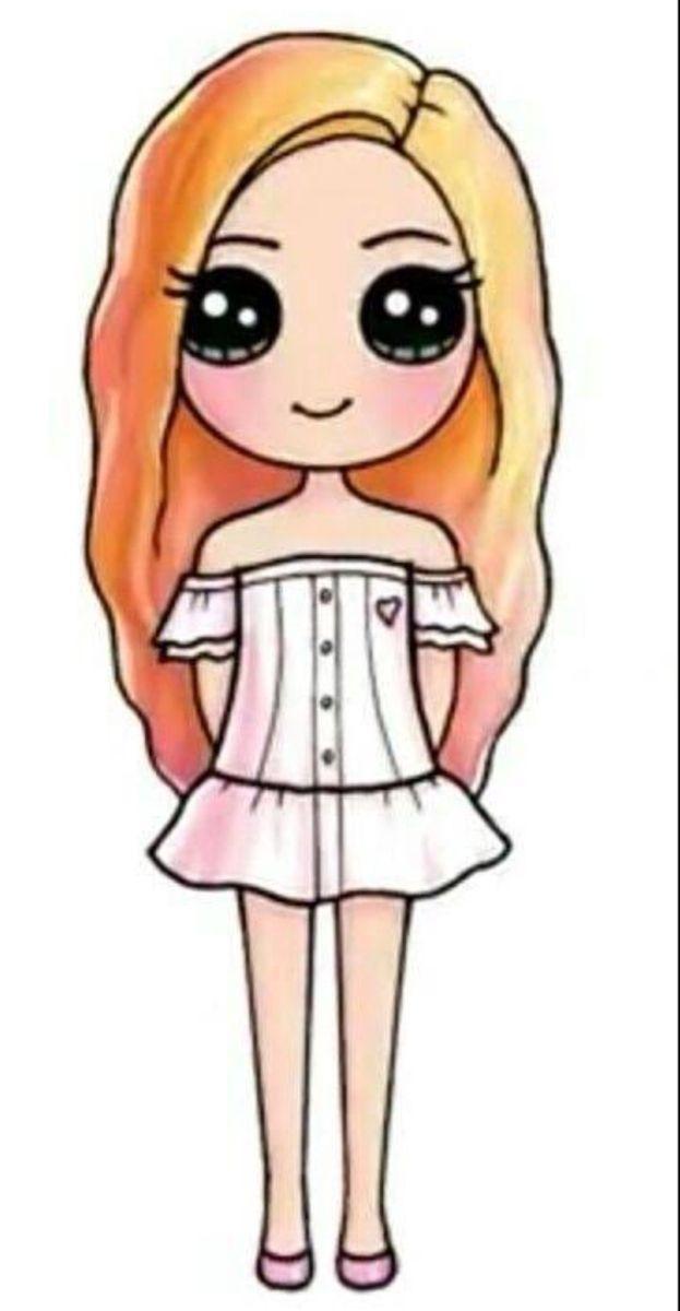 Pin By Tasneemtazz On Kawaii Drawings In 2020 Kawaii Girl Drawings Cute Easy Drawings Cute Girl Drawing