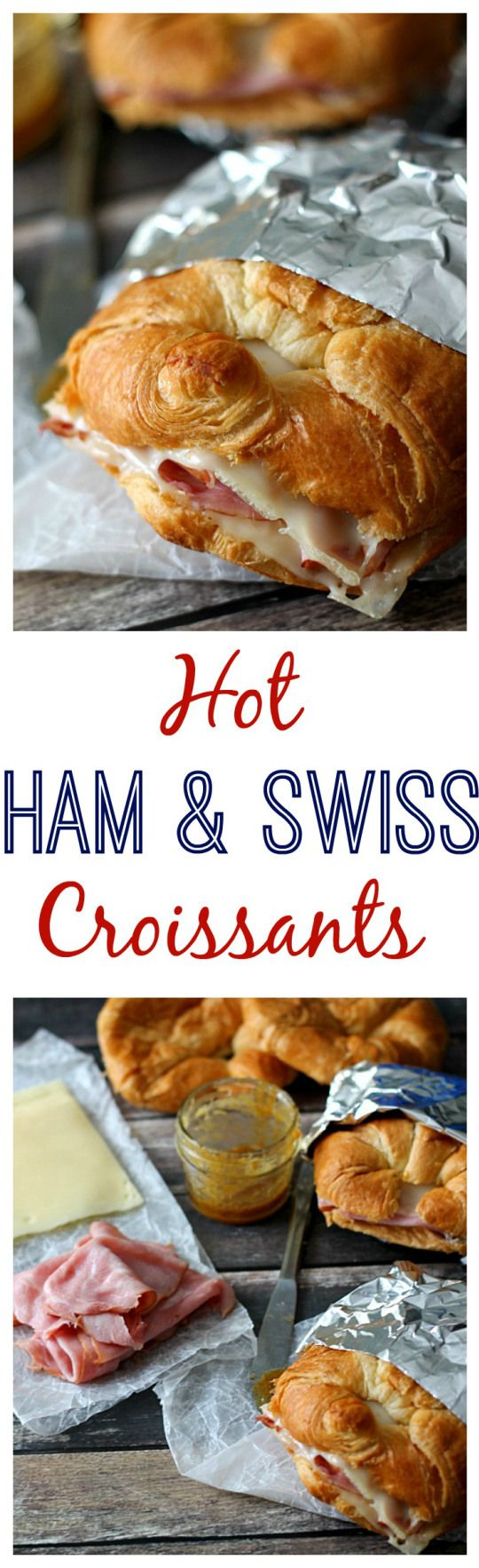 Hot Ham & Swiss Croissants- (!!!!) extremely easy et good. The sauce is really good but slightly too sweet. (Which I preferred ). Definite keeper