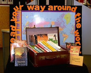 Library Displays- add as a display during the week of Earth Day (or International Literacy day)