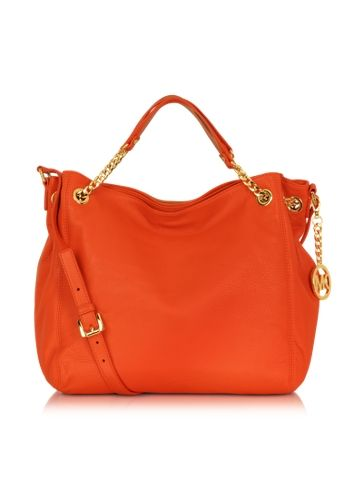 Michael Kors Jet Set Chain Borsa a Mano in Pelle