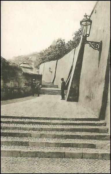 Praha - Staré zámecké schody