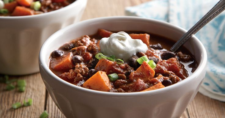 Chili season has arrived! Our version serves up warmth and brightness on these chilly nights.