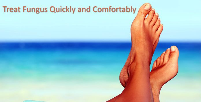 Laser Toenail Fungus Removal and Treatment The patented Toenail Laser is a specially designed laser beam that goes through the nail and safely reduces the