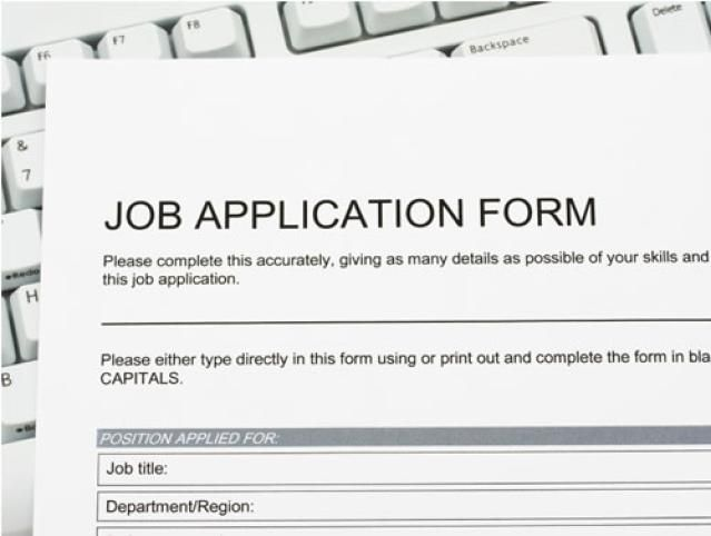 Helpful Tips for an Online Job Search: Review Sample Job Application Forms