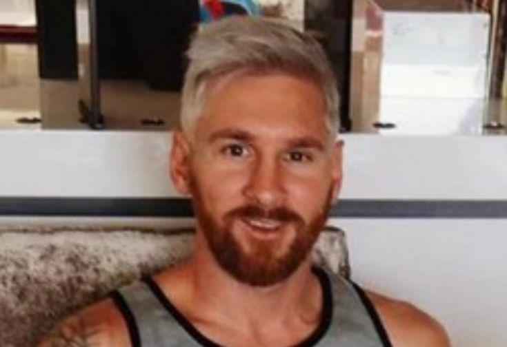 Messi Ikuti Trend Gaya Rambut Pirang Bintang Lapangan Hijau   Lifestyle   Arah.Com