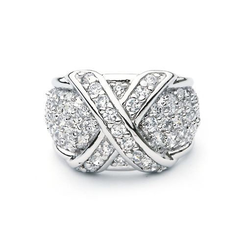 Monarch Ring with Cubic Zirconia