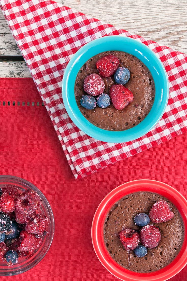 #Epicure Summer Berry Chocolate Pudding