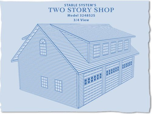 Our Two Story Shops : Pole Barn Packages : Stable Systems Inc.
