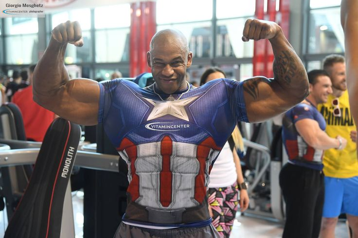 Giampietro Diedhiou #teamVitaminCenter #RW16 #riminiwellness #fitness #bodybuilding #italia