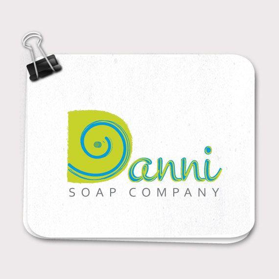 Premade Logo, Soap Logo, Small Business Logo Design, Blog Logo, One of a kind logo, Modern Logo