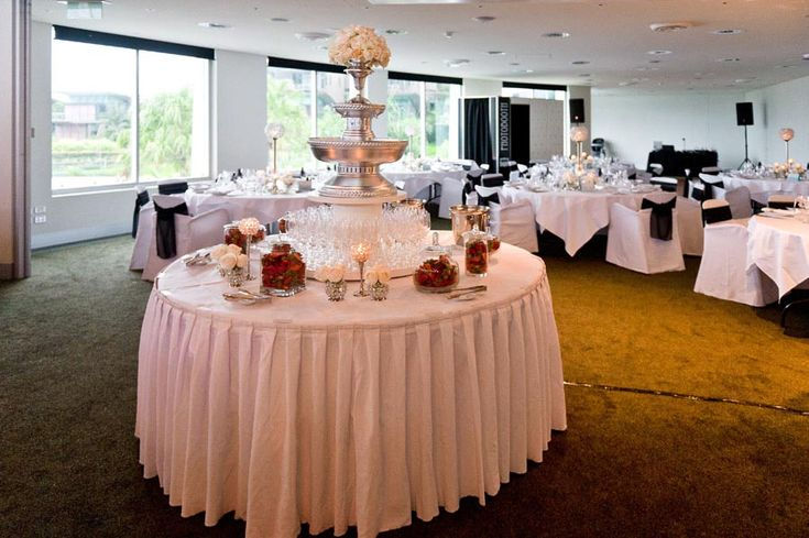 Champagne Fountain Wedding