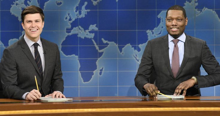 News flash! Michael Che, Colin Jost named co-head writers at Saturday Night Live