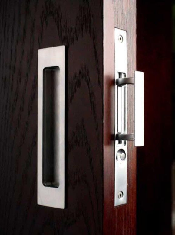 Pocket door lock hardware designed for timeless perfection. Description from pinterest.com. I searched for this on bing.com/images