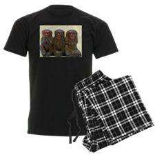 Three Wise Monkeys Pajamas