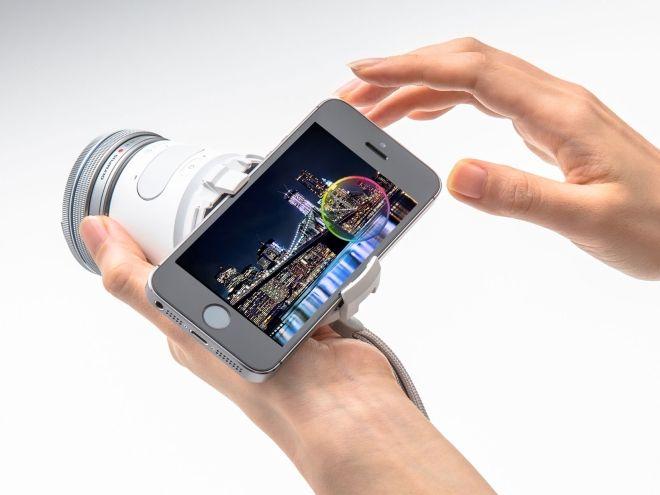 Akıllı Telefonlara Profesyonel Çekim Kamerası Hem de Kablosuz