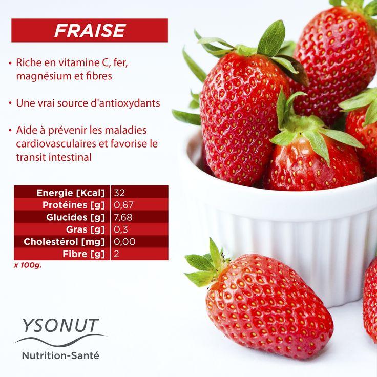 La #fraise est synonyme de printemps ! Saviez-vous que les romains l'utilisaient pour ses vertus médicinales ? Découvrez tous ses #bienfaits