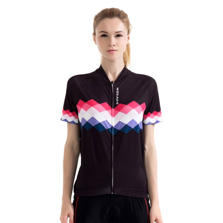 WOSAWE 2017 New Women's Cycling Jersey Short Sleeve Breathable Road Bike Downhill MTB Bike Clothing Bicycle Clothes for Woman -- AliExpress Affiliate's buyable pin. Click the VISIT button for detailed description on www.aliexpress.com