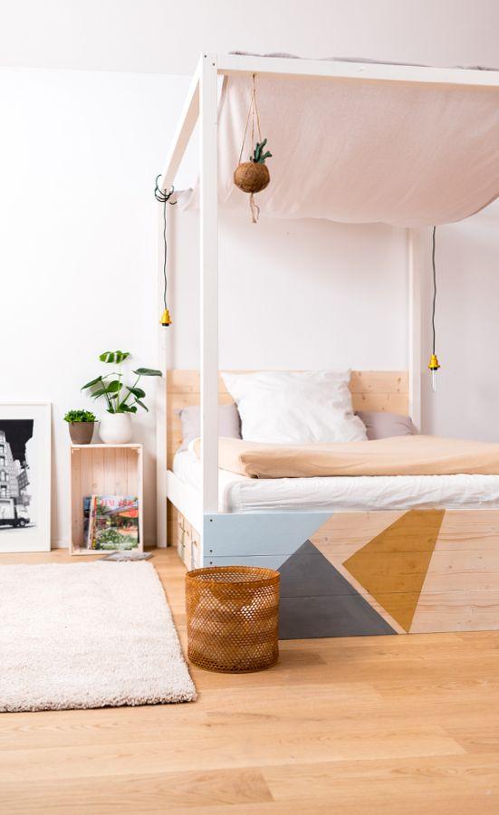 Himmelbett Frieda Selber Bauen   Betten In 2018 | Betten Jetzt Selber Bauen    DIY | Pinterest | Bett, Himmelbett Und Schlafzimmer