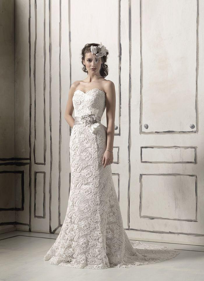 Justin alexander wedding dresses style 8558 venice lace for Lace wedding dress belt