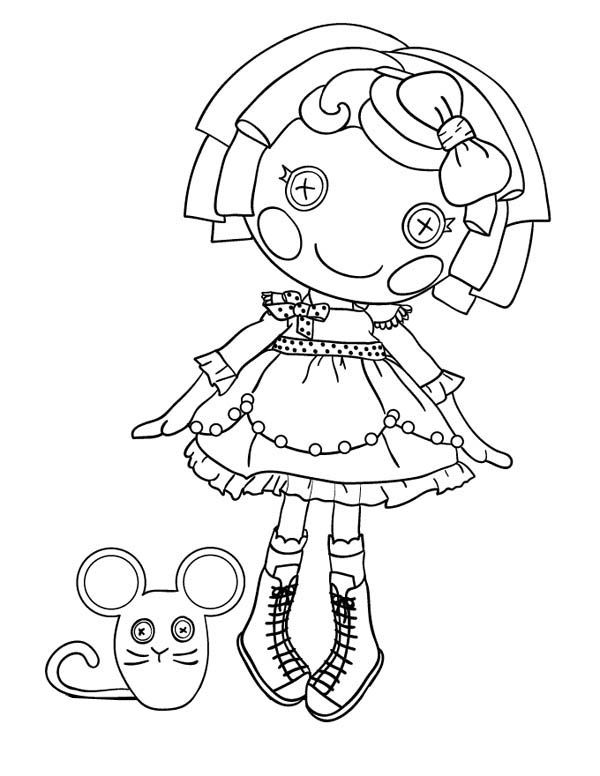 Lalaloopsy Coloring Pages Best Coloring Pages For Kids Mermaid Coloring Pages Baby Coloring Pages Lalaloopsy