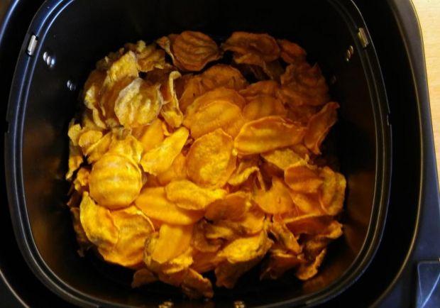 Gesunde Kartoffelchips Rezept ichkoche.at