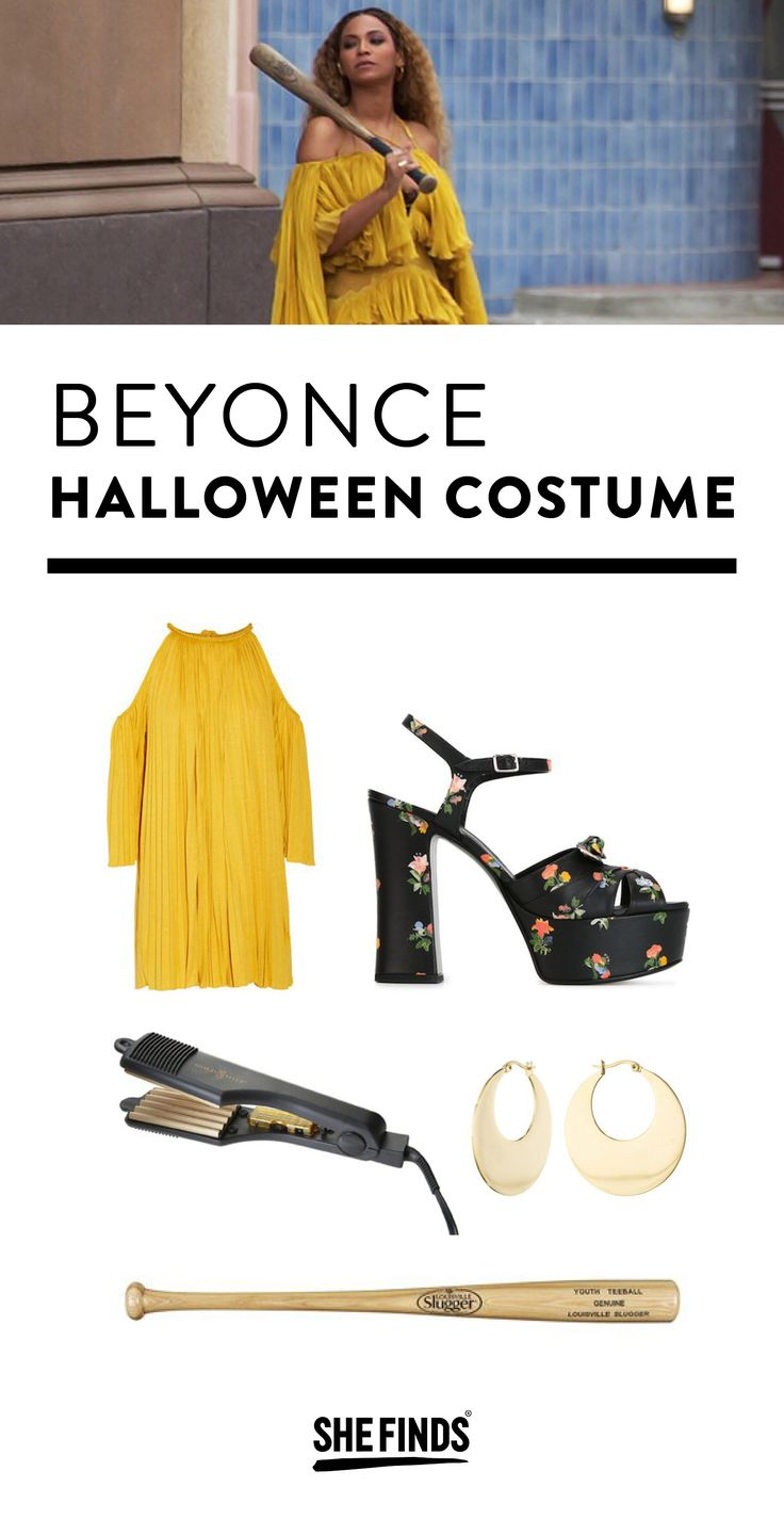 Hold Up!! Beyonce Lemonade Halloween Costume