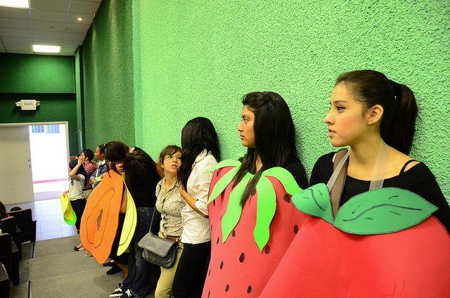 VII Congreso de Nutrición para Escolares realizado por la Escuela de Nutrición con niños de los niveles preescolar y primaria de escuelas de Montemorelos, el 16 de octubre del 2012 (Día Mundial de la Alimentación) en el Auditorio de la Facultad de Ci Dietista
