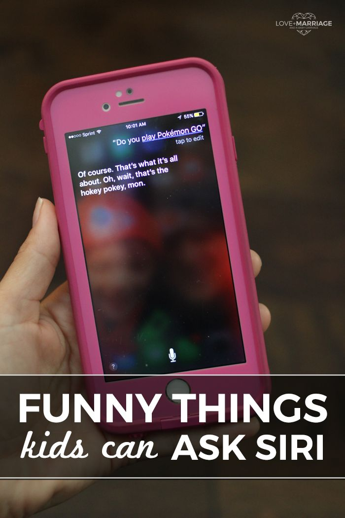 Kids can ask Siri all sorts of things on the iPad or iPhone - and these are so fun!